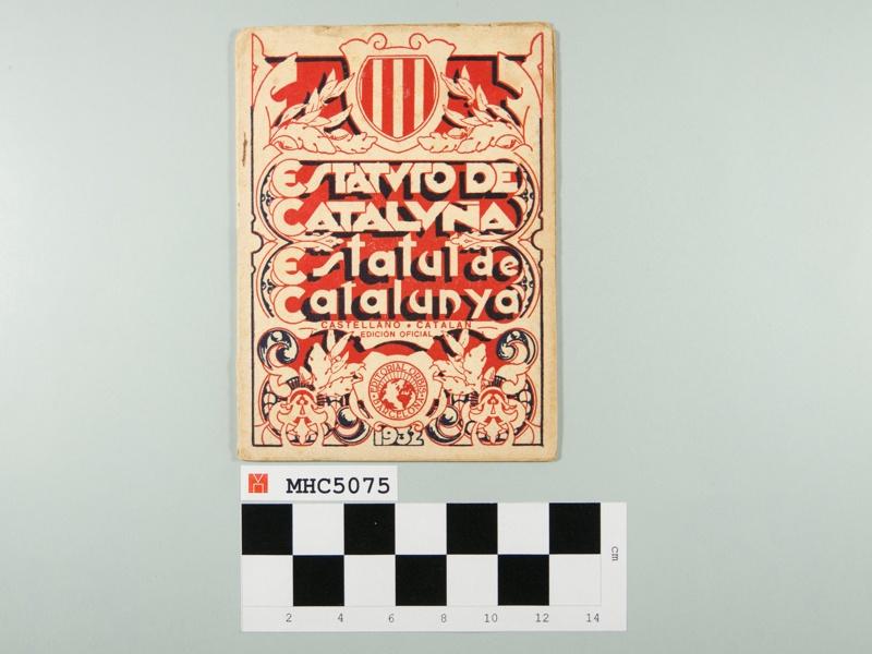 Estatuto de Cataluña. Estatut de Catalunya.