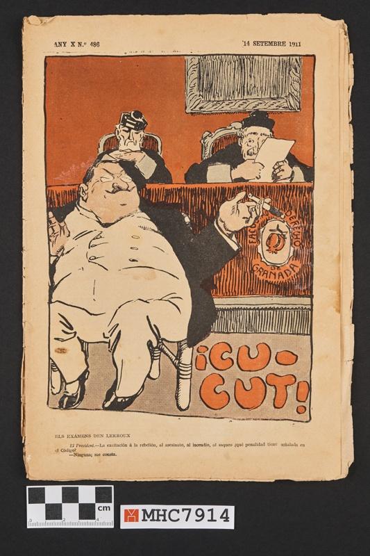 Revista Cucut, any X,  nº 486.