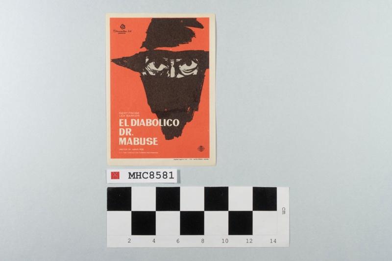 El diabólico Dr. Mabuse.