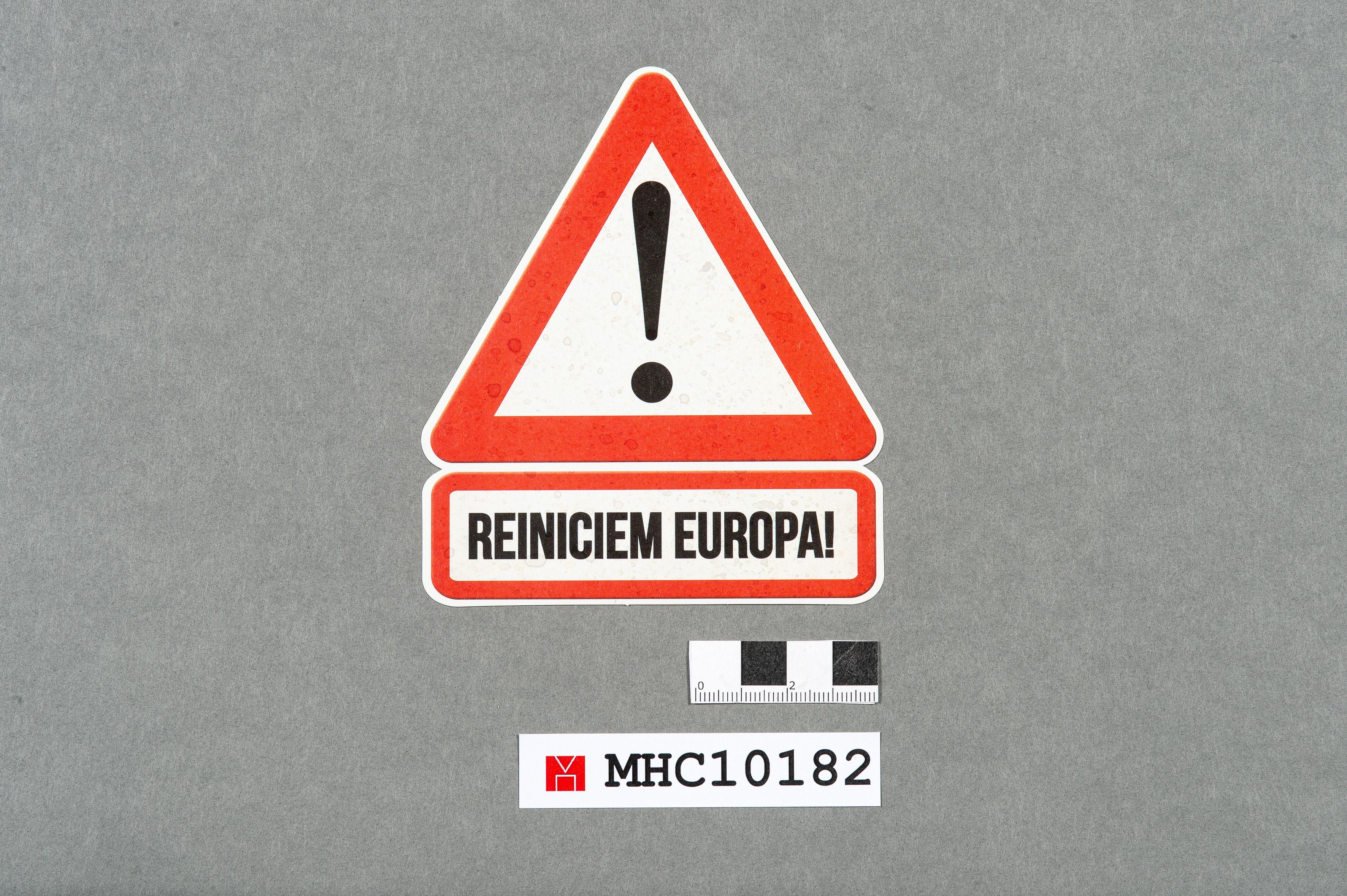 Reiniciem Europa