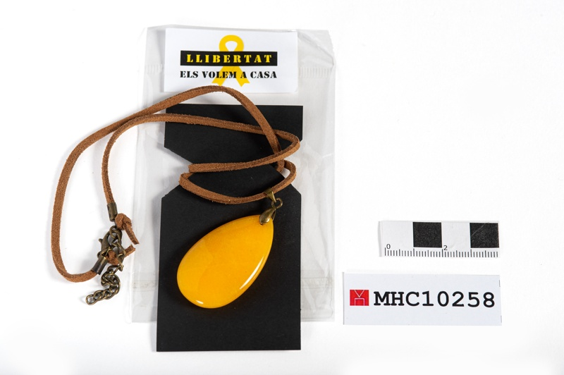 Collaret llamborda Rambla llaç groc