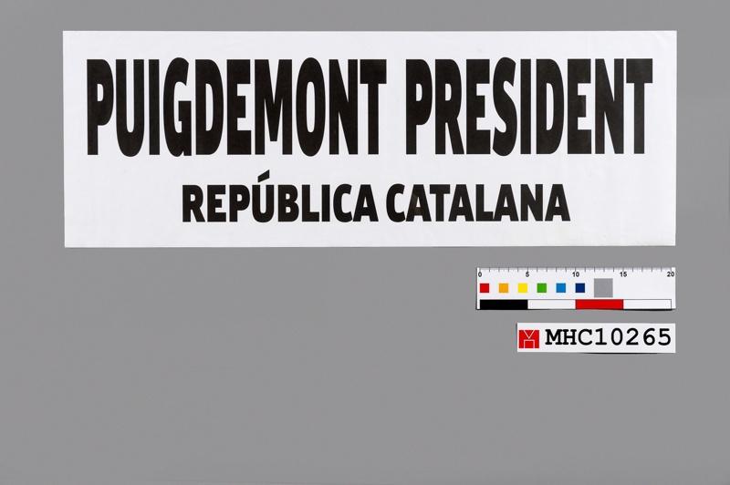 Puigdemont president república catalana